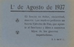 1 de August de 1937