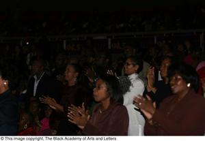 Audience Applauding After Performance Black Music and the Civil Rights Movement Concert