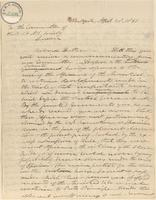 Letter from Joshua Leavitt to the Committee of the British and Foreign Anti-slavery Society