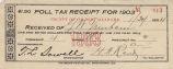Poll Tax Recept