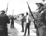 Police shakedown during Watts Riot