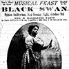 Don't miss the musical feast headed by the Black Swan