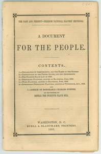 """A Document for the People"""