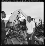 Burned residence from Watts Riots, Los Angeles (Calif.)