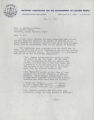 Letter, June 17, 1971, Gloster B. Current to I. D. Newman