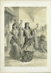 Ghawazi, or Dancing Girls. Rosetta