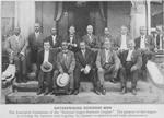Enterprising business men; The Executive Committee of the National Negro Business League; The purpose of this league is to bring the business men together for mutual cooperation and trade advancement