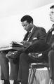 Photograph of Stokely Carmichael, Vanderbilt University, Nashville, Tennessee, 1967 April 08