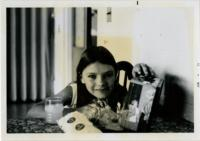 Young Child with Lunch Box