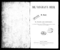 Mr. Vaughan's Heir