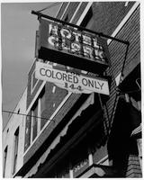Hotel Clark, for colored only, Memphis (Tenn.)