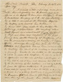 Letter from Joseph H. Hall in Manack, Alabama, to Bolling Hall, probably in Montgomery or Autauga County.