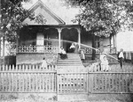 Evolution of the Negro home; Residence of a Negro lawyer, Atlanta