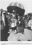 The Omanhin of Insuain; A Negro chieftain of the borders of Togoland, belonging to the Pôpô or Dahoméan group of West African peoples; His forefathers sold many Pôpô slaves to the Portuguese, British, and Danes