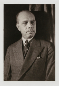 James Weldon Johnson, from the portfolio 'O, Write My Name': American Portraits, Harlem Heroes