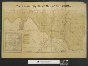 The Kansas City Times' map of Oklahoma.