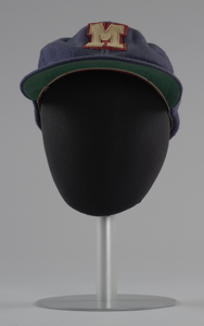 Baseball cap from the Memphis Red Sox