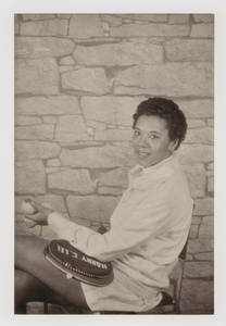 "Althea Gibson, from the unrealized portfolio ""Noble Black Women: The Harlem Renaissance and After"""