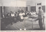 George Washington Carver in the classroom