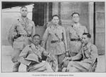 Un groupe d'officiers haitiens de la gendarmerie d'Haiti