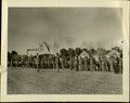 Photograph, [A Company in Formation of African American Troops at Parade Rest on the Parade Ground, n.d.].