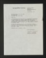 Background Information. Researcher correspondence, 1972-1976. (Box 1, Folder 6)