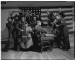 Sheet Film 1448: First African American Band, circa 1944: Scan 1