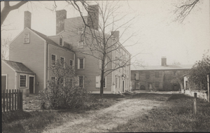Exterior view of the Royall House, Medford, Mass., undated