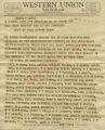 Citizens of Americus Georgia to Gov. Ross Barnett and Lt. Gov. Johnson