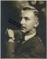 Fashion Portrait of John Pratt with Cigarette
