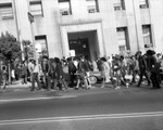 Thousands protest Black Panther Raid, Hall of Justice