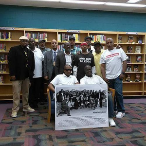 Hip Hop Pioneers Event Group Photo