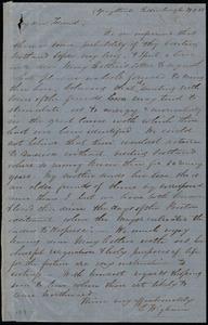 Letter from Eliza Wigham, 5 Gray Street, Edinburgh, [Scotland], to Maria Weston Chapman, 29-9-55 [29 Sept. 1855]