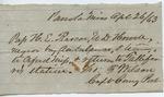 Pass. Panola, Miss. (26 April 1863)