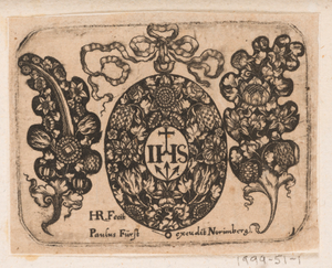 """Title Plate,"" Plate 1 from ""Goldsmith Ornament Designs"""