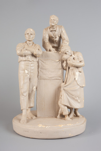 Rogers Group Sculpture - The Slave Auction