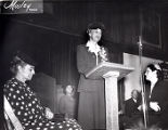 Marian Anderson and Eleanor Roosevelt at Tindley Temple United Methosdist Church