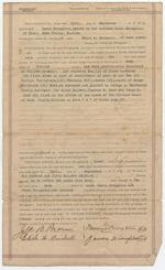 Mortgage Deed between Belle G. Brickell and Mamie and James Broughton