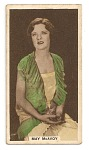 May McAvoy cinema card