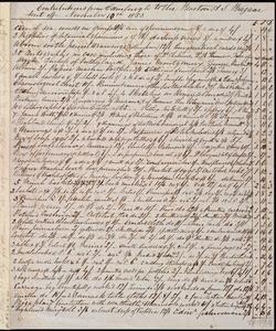Letter from Eliza Wigham, 5 Gray Street, Edinburgh, [Scotland], to Anne Warren Weston, 11-11-1853