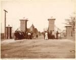 The Lincoln gate, Tuskegee Institute, Ala