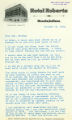 Eleanor Roosevelt letter to Anna Louise Strong regarding American communists, the British, and Finland, October 25, 1939