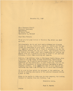 Letter from Hugh H. Smythe to Pan-Africa