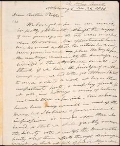 Thumbnail for Letter from Joshua Leavitt, Attleboro, to Amos Augustus Phelps, Dec. 24. 1840