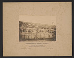 Andersonville Prison, Georgia. South end view of the stockade Showing the sentry stands in the distance /