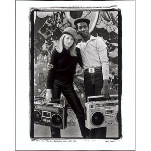 Tina Weymouth and Grandmaster Flash, NYC, 1981