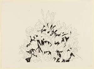 Jazz After Six, Detail of Flowers