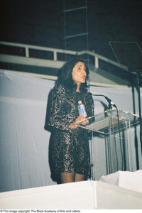 Speaker at Podium Dallas Arts Gala