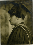 Graduation portrait of Virginia Stephens