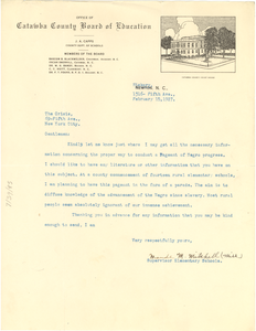 Letter from Maude M. Mitchell to Crisis
